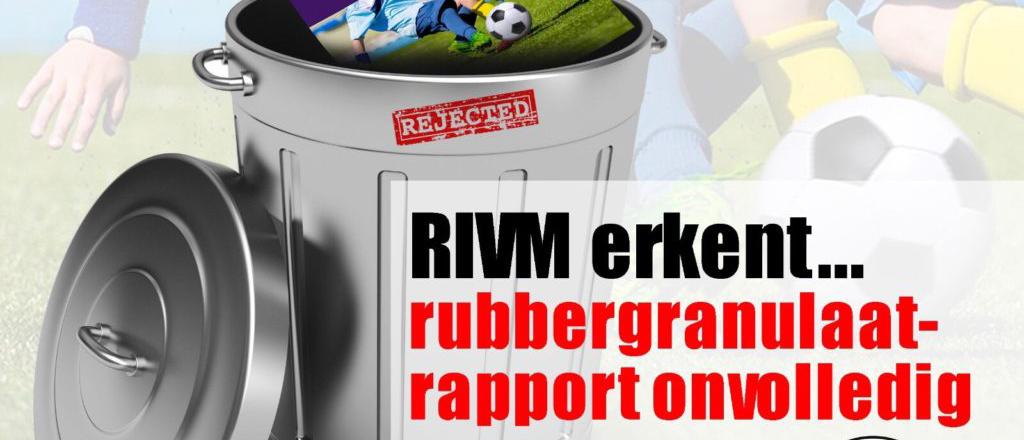 RIVM erkent rubbergranulaat rapport volledig
